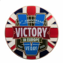 VE Day Victory in Europe 75th Anniversary Commemorative Coin - Sleeved